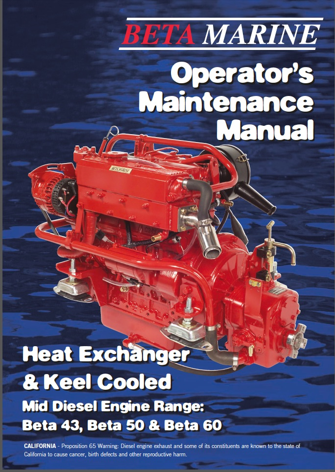 Beta Marine 43 hp Engine Manual