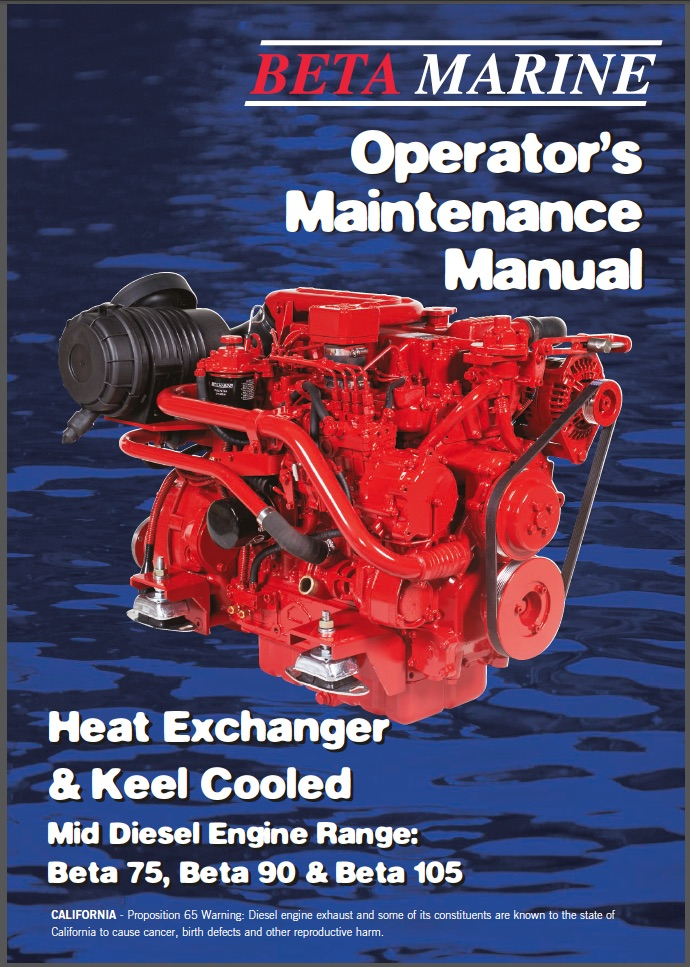 Beta Marine 75hp Engine Manual