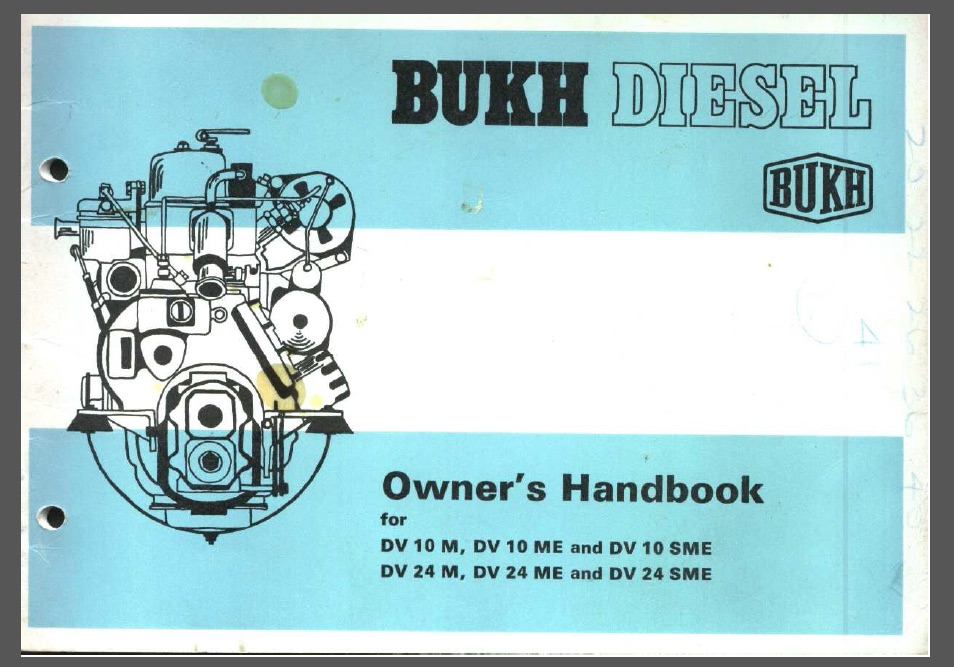 Bukh 10 hp Engine Manual