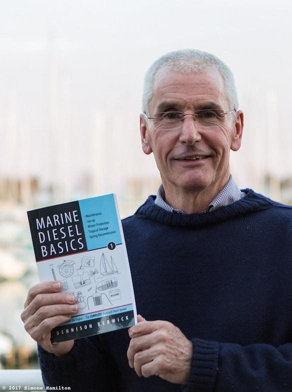 Dennison Berwick at launch of Marine Diesel Basics 1 in Toronto, Canada